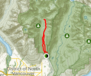 Lynn Headwater Trail Map