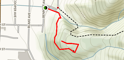 Doc Holiday Grave Trail Map