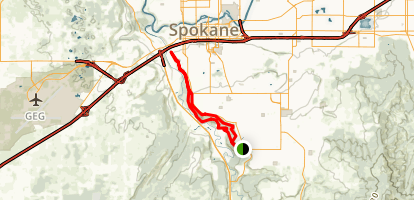 High Drive Parkway Trail Map