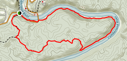 Blue Bend Trail Map