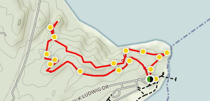 Lees Woods Trail Map
