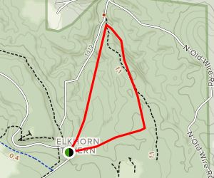 Williams Hollow Trail Map