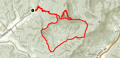 Pilot Knob Trail Map