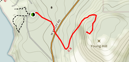 Young Hill Trail Map