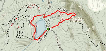 Shaupeneak Ridge Trail Map