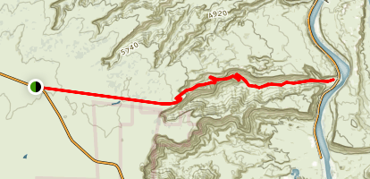 Long Canyon Road Trail Map