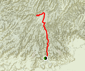 Sego Canyon Drive Map