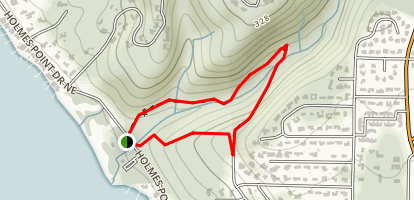 O. O. Denny County Park Loop Trail Map