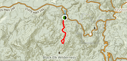 Willow Creek - Rushmore Trail Map