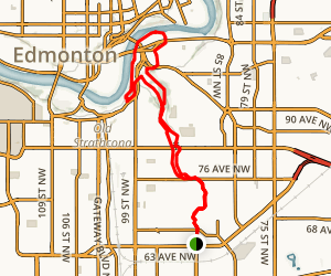 Mill Creek Ravine Trail Map