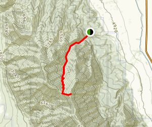 Mendon Peak Trail Map