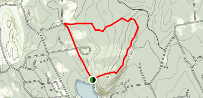 Meshomasic Forest Trail Map