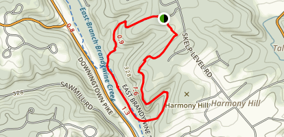 Harmony Hill Map