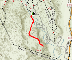 Pinhead Peak Trail Map