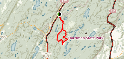 Africa Loop-Harriman Park Map