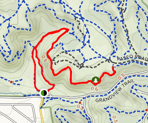 Edna Mae Bennet Nature Trail Map