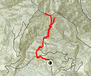 Sasse Mountain Trail (#1340) Map