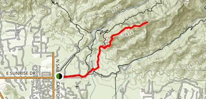Blackett's Ridge Trail Map