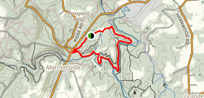 Switchback Trail Map