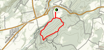 Point Mountain Riverwalk Loop Trail Map