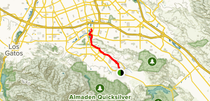 Los Alamitos Creek Trail Map