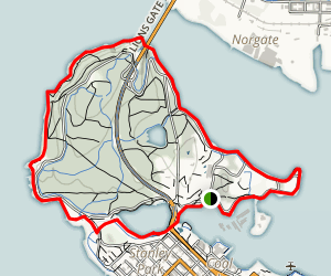 Stanley Park Seawall Trail Map