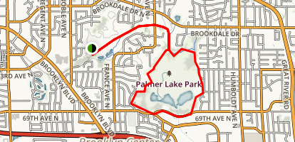 Shingle Creek Parkway Trail Map
