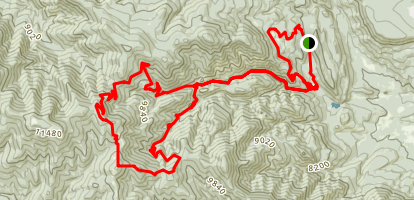 Philmont Urraca Trail (PRIVATE PROPERTY) Map