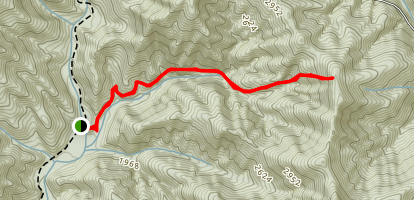 Hickory Branch Trail Map