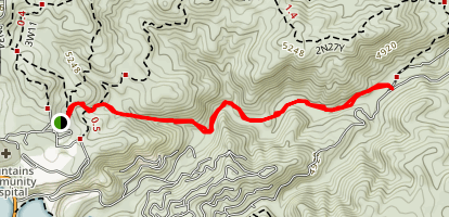 Little Bear Creek Trail Map