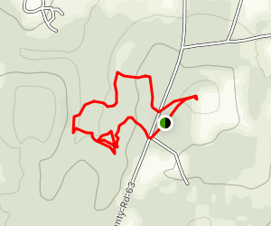 Confederate Memorial Park Loop Map