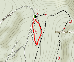 Catoctin Mountain Park - Charcoal Trail Map