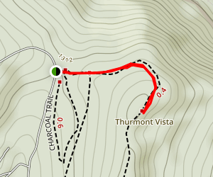 Catoctin Mountain Park - Thurmont Vista Map