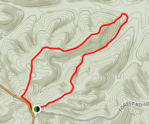 1071 Loop Trail Map