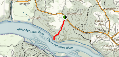 Block House Point River View Map