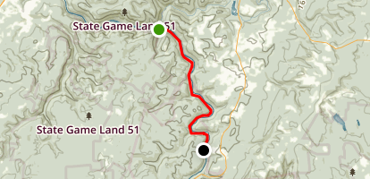 Yough River Trail - Camp Carmel to Ohiopyle Map