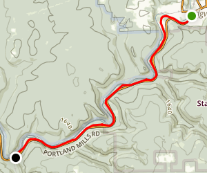 Clarion-Little Toby Trail-North Map