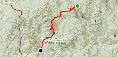 Pemi Traverse Map