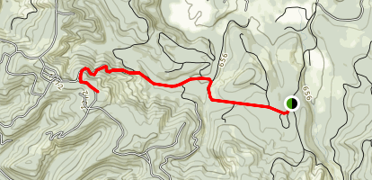 Lasky Creek Summit Map