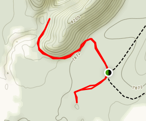 Bandera Crater - Ice Caves Map