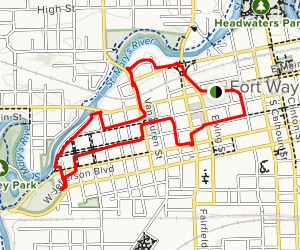 The West Central Historical Trail Map