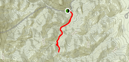 Mill to South Canyon Map