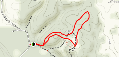 Wire Road Trail of Tears Map