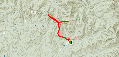 Doubletop and Graham Bushwhack Map