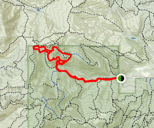 760 Outback Loop Trail Map