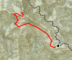 Cone Peak Summit Trail Map