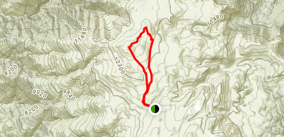 Mt. Barcroft - via the White Mountain Trail Map