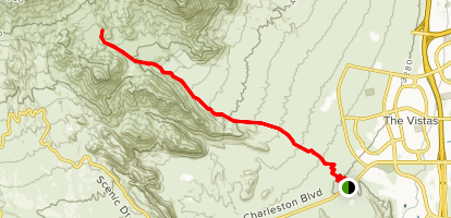 Brownstone Canyon (horse trail to dam) Map