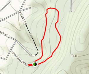 Ruffner Mtn Geology/Nature Trail Loop Map