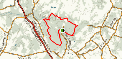 Little Bennett Loop Trail Map